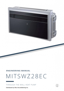 MITSWZ28EC Engineering Manual